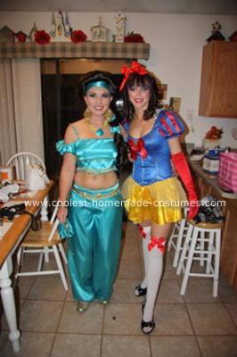 Homemade Jasmine Costume 2