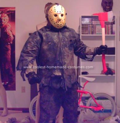 Homemade Jason Takes Manhattan Costume