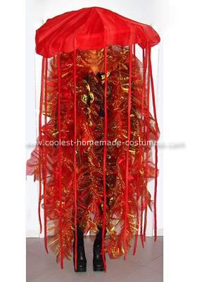 Homemade Jellyfish Halloween Costume