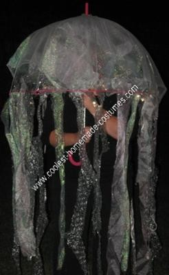 Homemade Jellyfish Halloween Costume Idea