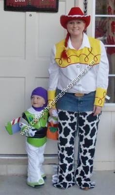 Homemade Jessie Halloween Costume Idea