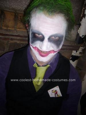 Homemade Joker Costume