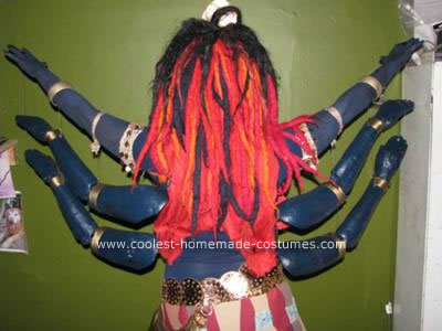 Homemade Kali Costume Idea