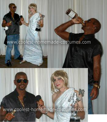 Taylor Swift Halloween Costumes on Homemade Kanye West And Taylor Swift At Video Music Awards Costume 4