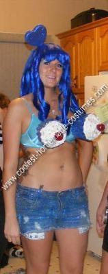 Homemade Katy Perry (California Girls) Halloween Costume Idea
