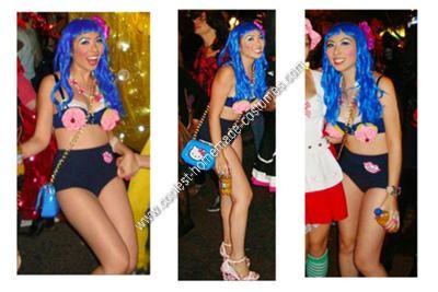 Homemade Katy Perry's California Gurls Costume