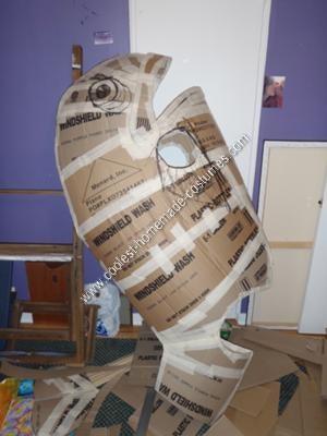 Homemade Killer Fish Halloween Costume Idea