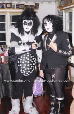 Homemade KISS Costumes