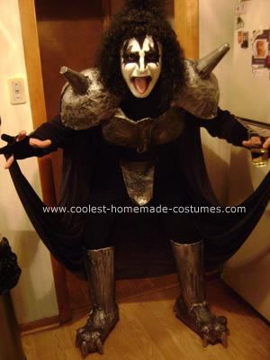 Homemade KISS Demon Costume