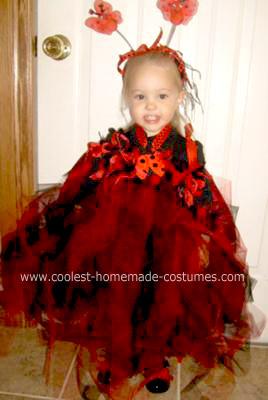 Homemade Ladybug Halloween Costume