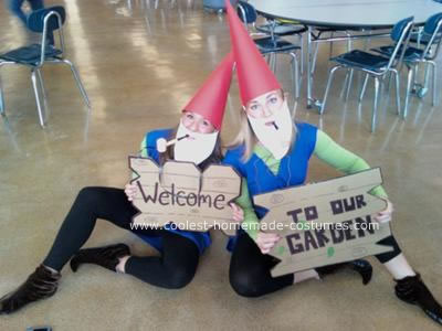 Twin Day Costume Ideas http://www.coolest-homemade-costumes.com/coolest-homemade-lawn-gnomes-costumes-6.html