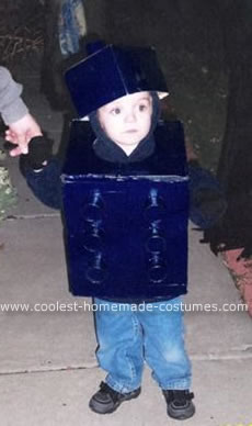 Homemade Lego Costume