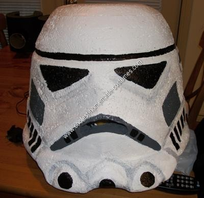Homemade Lego Star Wars Storm Trooper Costume