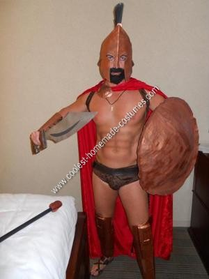 Homemade Leonidas King of Sparta Costume