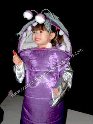 Homemade Little Boo from Monster's Inc Costume