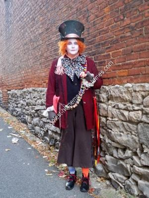 Homemade Mad Hatter Adult Halloween Costume