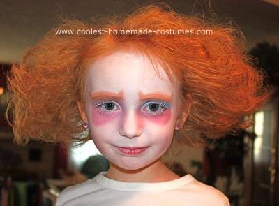 Homemade Mad Hatter Child Halloween Costume