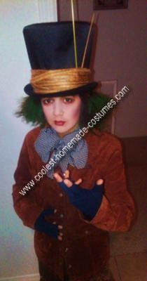 Homemade Mad Hatter from Alice in Wonderland Costume Idea