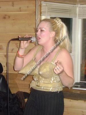 Homemade Madonna Costume