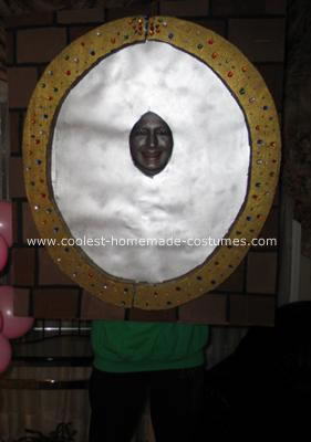 Homemade Magic Mirror Costume