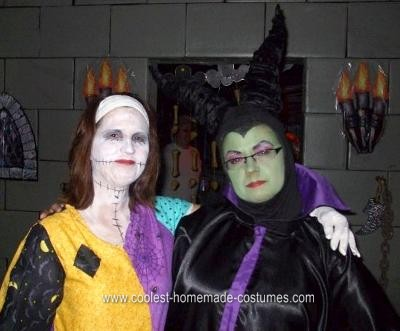 Homemade Maleficent Halloween Costume