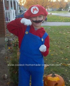 Homemade Mario Costume