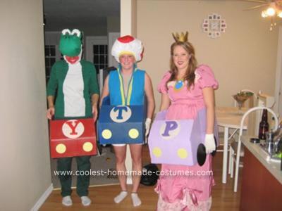 Homemade Mario Kart Character Costumes
