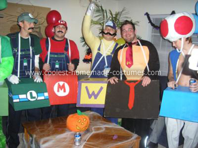Homemade Mario Kart Costume