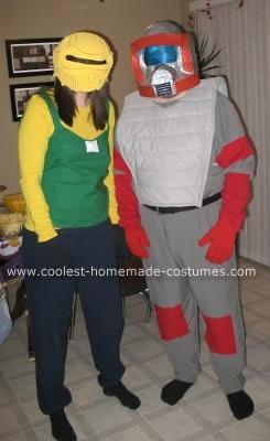 Homemade MA.S.K Agents Gloria Baker and Matt Trakker Costumes