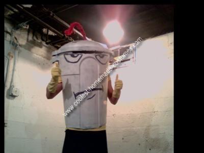 Homemade Master Shake Costume