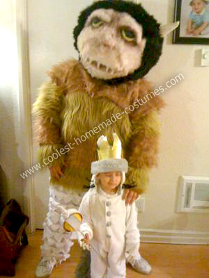 Where the Wild Things Are, Me as Carol, my son as Max