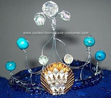 Homemade Mermaid Crown