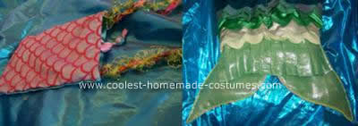 Homemade Mermaid Costume