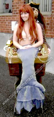 Homemade Mermaid Optical Illusion Costume