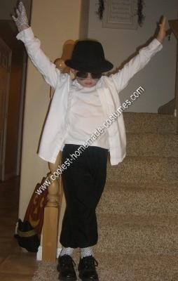 Homemade Michael Jackson Costume