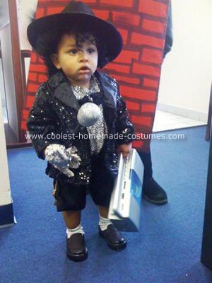 Homemade Michael Jackson LIVES Costume