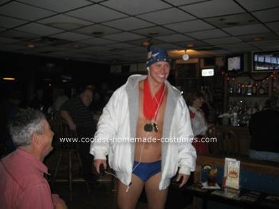 Homemade Michael Phelps Costume