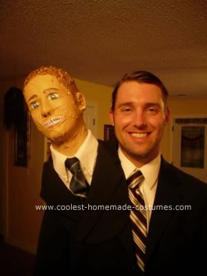 Homemade Michael Scott Costume