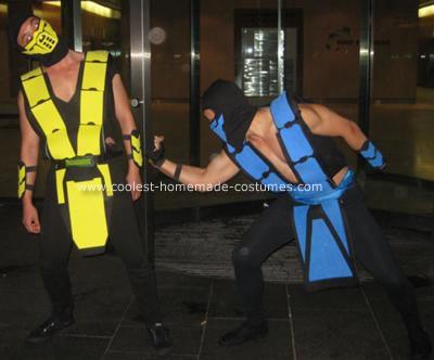 Homemade Mortal Kombat 2 Costumes