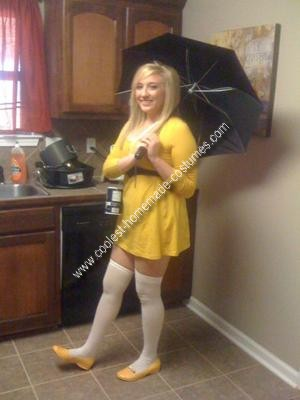 Homemade Morton Salt Girl Costume