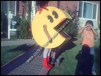 Homemade Ms Pacman Costume
