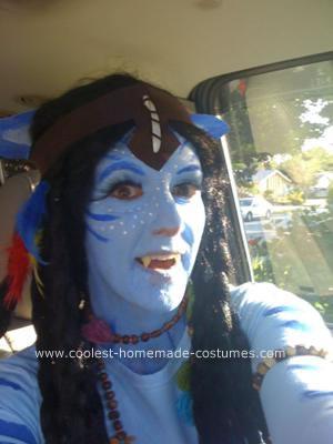 Homemade Navi from Avatar Costume