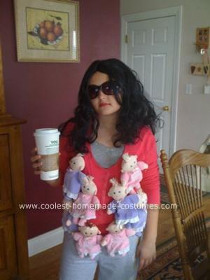 Homemade Octomom Halloween Costume