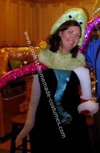 Homemade Octopus Costume