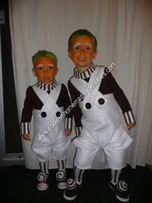Homemade Oompa Loompa Halloween Costumes