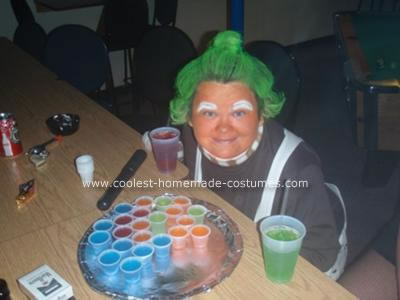 Homemade Ooompa Loompa Halloween Costume