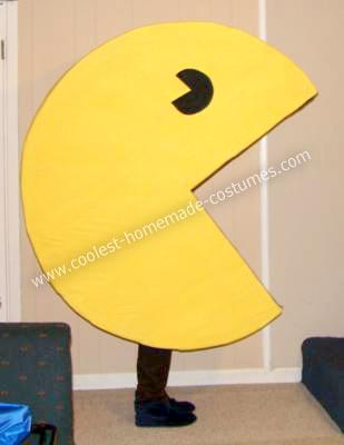 Homemade Pac Man Halloween Costume