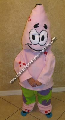 Homemade Patrick Star Kids Costume