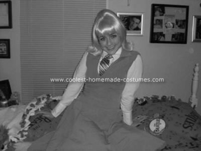 Homemade Pattie Boyd Costume