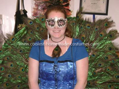 Coolest Homemade Peacock Costume